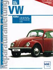 Buch Reparaturanleitung VW Käfer 1200 1300 1500 1600 1302 ab 1968 Bucheli Verlag