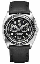 Luminox Men's 9441 P-38 Lightning 9420 Analog Display Quartz Black Watch- NIB!!!