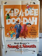 Song of the South 1973 Movie Poster Original 1SH R73/152 FREE S&H BUY IT NOW $44