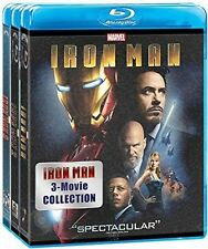 Iron Man: 3 Movie Collection Blu-ray n1