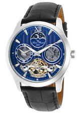 Lucien Piccard San Marco Moonphase Automatic Mens Watch LP-40017A-03