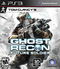 PS3 Tom Clancy's Ghost Recon Future Soldier(PlayStation 3, PS Move, Ubisoft) New