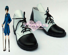 Black Butler Ciel Phantomhive Short Halloween Cosplay Shoes H016