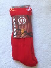 BNIP WARRIOR 2014-15 LIVERPOOL PLAYER ISSUE HOME SOCCER SOCKS LARGE