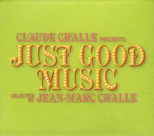 CLAUDE CHALLE = just good music =3CD-BOX= DOWNTEMPO TRIBAL DEEP HOUSE GROOVES !!