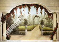 Dolls House Wallpaper Mural 1/12th scale Quality Paper #08