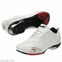 PUMA DUCATI TESTASTRETTA WHITE  MENS MOTORCYCLE INSPIRED TRAINERS BOOTS RRP £95