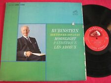 LP - BEETHOVEN SONATAS RUBINSTEIN PATHETIQUE - RCA VICTOR LIVING STEREO LSC-2654