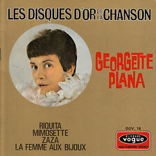 45TRS VINYL 7''/ FRENCH EP VOGUE /GEORGETTE PLANA SERIE DISQUES D'OR /RIQUITA +3