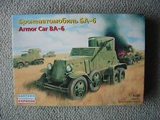 Eastern Express 1/35 Soviet BA-6 armored car (WWII)