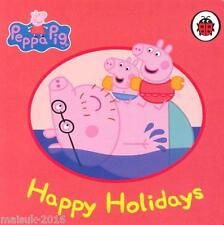"""LadyBird Peppa Pig """"Happy Holidays"""" Early Reading Card Book"""