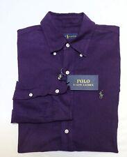 Ralph Lauren Men's Long Sleeve Oxford Button Down Shirt size Medium Retails $98
