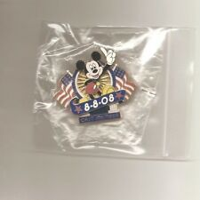 Limited Editon 1250 Cast Member Olympic Pin - 8/8/08 - Mickey Mouse