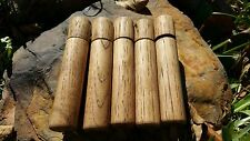 5 PACK Hickory Fire Piston's FREE Shipping* Wood Handle  Camping Survival Scouts