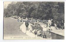 tq0220 - Hants - Gardens & Children's Corner on Beach Bournmouth - Postcard LL31