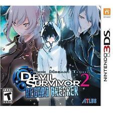 Shin Megami Tensei: Devil Survivor 2 Record Breaker (Nintendo 3DS, 2015) - NEW