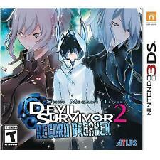 DEVIL SURVIVOR 2: RECORD BREAKER(FREE MUSIC CD BUNDLED) 3DS RPG NEW VIDEO GAME