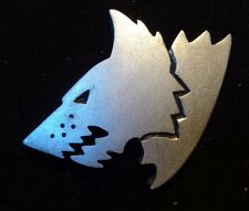 40k Space Wolf Ragnar Blackmane's company badge pin