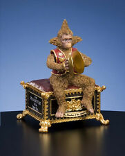 San Francisco Music Box PHANTOM OF THE OPERA MONKEY Music Box NIB Masquerade