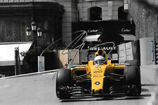 Kevin Magussen SIGNED F1 Equipe Team Renault RS16  Monaco GP 2016