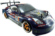 HSP 94123 Rc Drift Car 4wd 1:10 Electric Flying Fish Drifting on-road High Speed