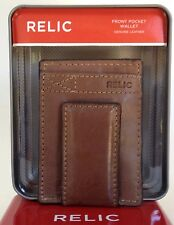 Relic Barea Magnetic Money Clip Multi Card Case Front Pocket Wallet New In Box