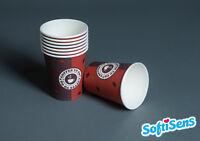2.000 x 0,2l Coffee to go Becher Kaffeebecher Pappbecher Hartpapierbecher Einweg