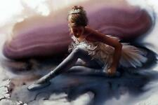"""Lee Bogle """"Opening Night Dancer Print  Signed and Numbered 25.5"""" x 18.5"""""""
