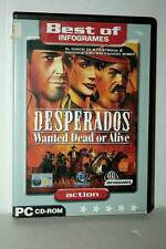 DESPERADOS WANTED DEAD OR ALIVE USATO BUONO PC CD ROM VER ITA FR1 43300