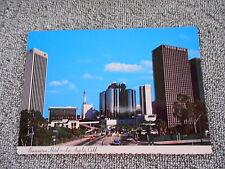 VINTAGE   POST CARD -- BONAVENTURE HOTEL LOS ANGELES