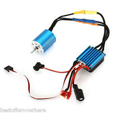 Surpass 2430 5800KV Sensorless Motor 25A Brushless ESC for 1 / 18 1 / 16 RC Car