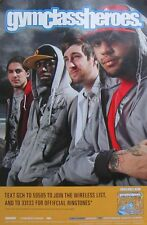 GYM CLASS HEROES POSTER (T11)