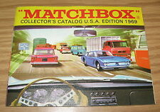 MATCHBOX ORIGINAL 1969 COLLECTOR'S CATALOG EDITION USA EDITION CARS TRUCKS TOYS