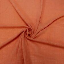 Solid Slub Cotton Gauze Fabric by Yard