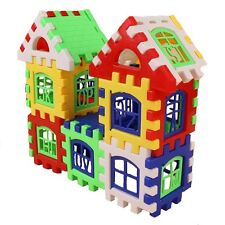 Building Blocks Bricks House Construction Developmental Kids Educational Toys