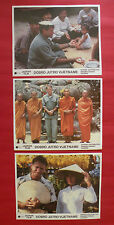 GOOD MORNING VIETNAM 1987 ROBIN WILLIAMS BARRY LEVINSON UNIQUE EXYU LOBBY CARDS