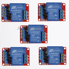 5pcs 5V 30A 1-Channel Relay Module with Optocoupler H/L Level Triger for Arduino