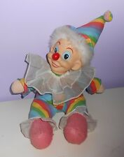 Vintage 1960's Wind-up Clown Musical Doll