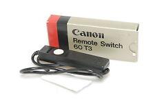 Canon Remote Switch 60 T3  Fernauslöser  OVP
