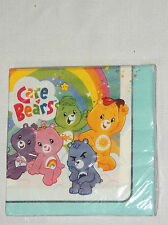 NEW  BABY CARE BEARS   16-PAPER LUNCH NAPKINS -BIRTHDAY-    PARTY SUPPLIES