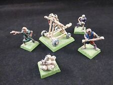 Classic Citadel Painted Metal Undead Skull Chukka Skeleton Catapult + Crew Set 2