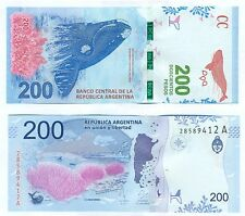 NEW !!! NOTE ARGENTINA 200 PESOS (2016) UNC SERIAL A !!!!!!!!!!!!!!!!!!