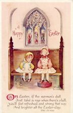 Ethel De Wees illustration A HAPPY EASTER  If the sermon's dull Just take a nap