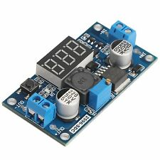 LM2596 Buck Step-down Power Converter Module DC 2.5~40 to 1.25-35V LED Voltmeter