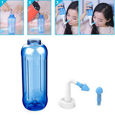 Adults Children Nose Wash System Sinus & Allergies Relief Rinse Neti Pot 500mL
