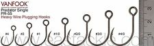 Vanfook PR-55 #2 Barbed Heavy Wire Single Luring Hooks