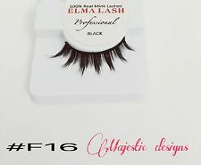 3D Real Mink Eyelashes Makeup Thick Black Eye Lashes #F16