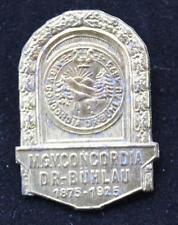 Original Abzeichen 50 Jahre MGV Concordia Dortmund  Dr. Bühlau 1925