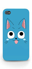 Fairy Tail Happy Cat iPhone 4 / 4s Hard Plastic Case Anime Cosplay