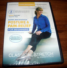 Classical Stretch Miranda Esmonde White Posture & Pain Relief DVD for Beginners